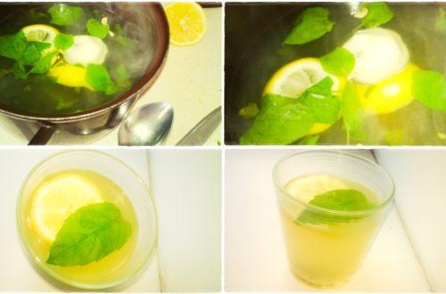 orzeźwiająca lemoniada na lato