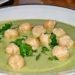 krem z zielonego groszku, krem z groszku, zupa z zielonego groszku