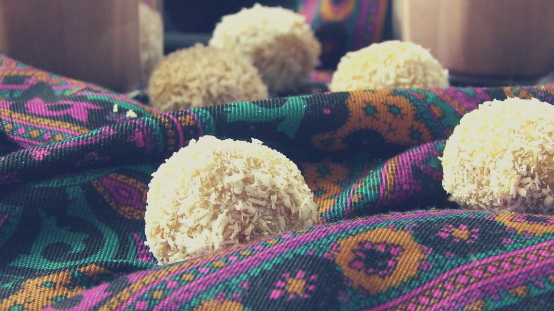 praliny kokosowe z ananasem